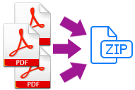 archive pdf to zip